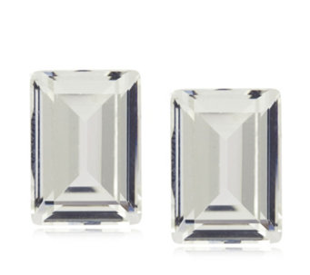 Frank Usher Square Crystal Clip On Earrings - 310419