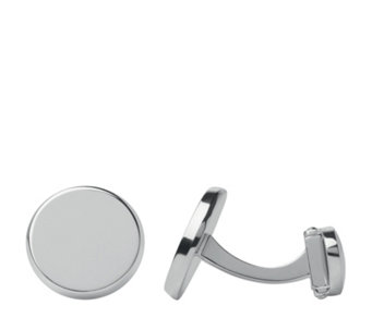 Links of London Round T Bar Cufflinks Sterling Silver - 308322