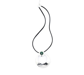 Taxco Traditions Eternity Necklace on Cord Sterling Silver - 309822