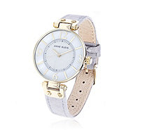 Anne Klein Women's Chelsea Leather Strap Watch - 308025