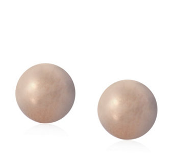 9ct Gold Simple Ball Stud Earrings - 308325