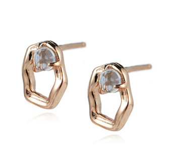Lola Rose Boutique Lyra Semi Precious Stud Earrings - 306826