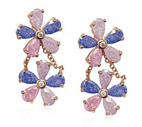 Butler & Wilson Crystal Flowers Earrings - 319128