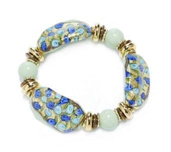 Murano Glass Millerose Stretch Bracelet - 307529