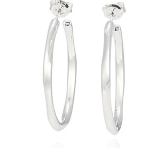 Links of London 20/20 Hoop Earrings Sterling Silver - 309430