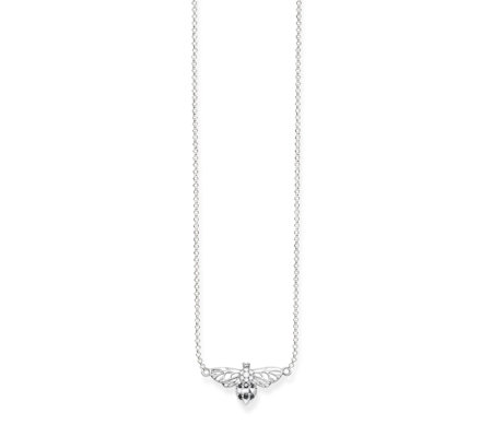 Thomas Sabo Bee 45cm Necklace Sterling Silver