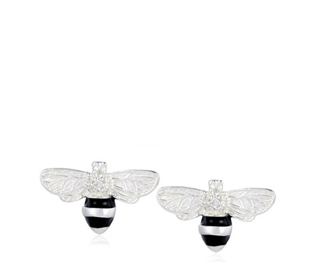 Thomas Sabo Bee Stud Earrings Sterling Silver