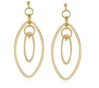 K by Kelly Hoppen Miami Collection Circle Drop Earrings Bronze - 312635
