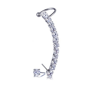 loveRocks Crystal Earclimber & Stud Earring Set - 304537