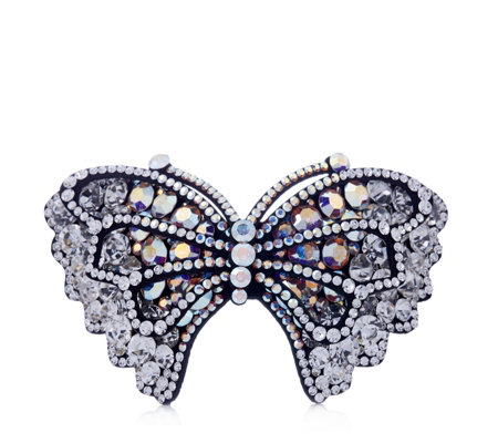 Butler & Wilson Crystal Butterfly Hairclip