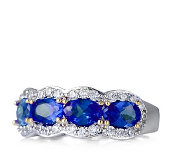 Elizabeth Taylor 1.6ct tw Simulated Gemstone Band Ring - 305938
