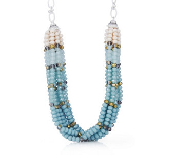 Lonna & Lilly Twisted Bead 45cm Necklace - 312439