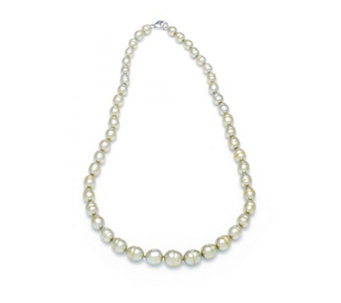 Honora 6.5-10mm Cultured Pearl 45cm Necklace Sterling Silver - 312241