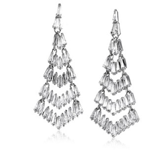 Frank Usher Crystal Drop Earrings - 308043