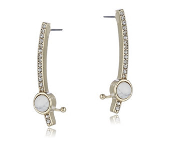 Danielle Nicole Pop Ear Climber Earrings - 308744