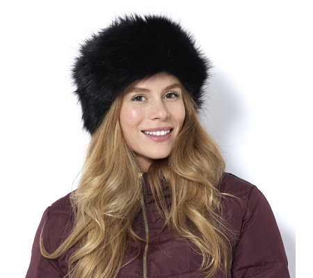 Frank Usher Faux Fur Head Band