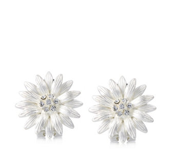 Roberto by RFM Margherite Flower Clip Earrings - 305346