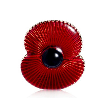 The Poppy Collection Unisex Brooch by Buckley London - 306946