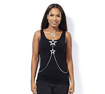 Butler & Wilson Couture Triple Star Body Chain - 308446