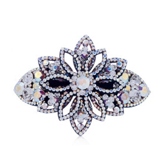 Butler & Wilson Five Petals Crystal Hairclip - 312946
