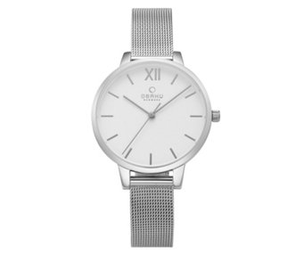 Obaku Ladies Liv Mesh Strap Watch - 316146
