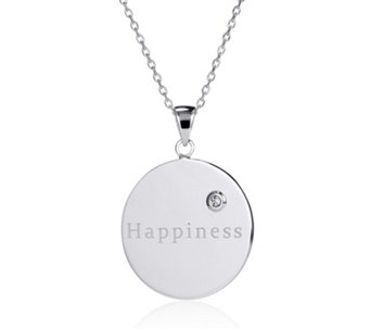 K by Kelly Hoppen Happiness 70cm Pendant & Chain Bronze - 307747