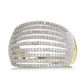 0.5ct Diamond Multi Row Cocktail Ring 9ct Gold - 316648
