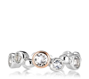 Clogau 9ct Rose Gold & Sterling Silver Celebration Ring - 316249