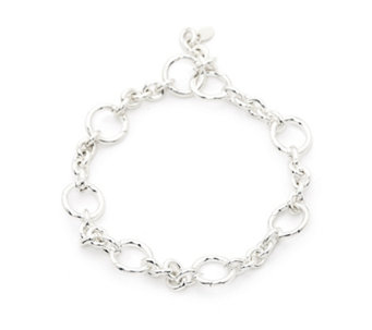 Links of London Capture Charm Carrier Bracelet Sterling Silver - 309650