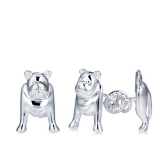 Links of London British Bulldog Cufflinks Sterling Silver - 307851