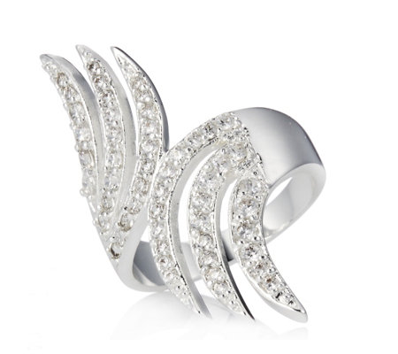 Roberto by RFM Crystal Wing Ring