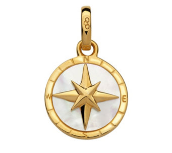 Links of London Amulet Keepsakes MOP Compass Pendant Sterling Silver - 307853