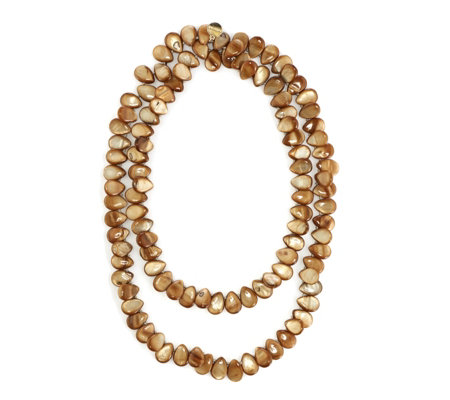 Bcharmd Dina Pear Drop Shell 68cm Necklace