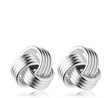 Links of London Essentials Knot Stud Earrings Sterling Silver - 309653
