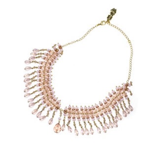 Butler & Wilson Beaded Drop Collar 46cm Necklace - 312954
