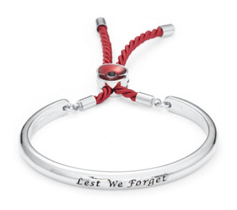 The Poppy Collection Engraved Bangle by Buckley London - 306955