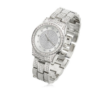 Gossip Full Pave Crystal Watch - 310355