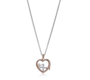 Anais Locket & Charms Bundle 45cm Chain Sterling Silver - 311056