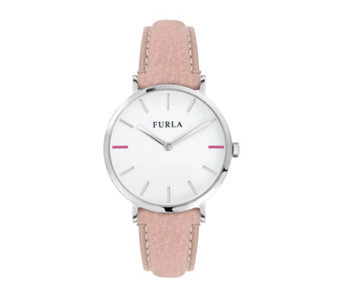 Furla Ladies Giada Leather Strap Watch - 314956