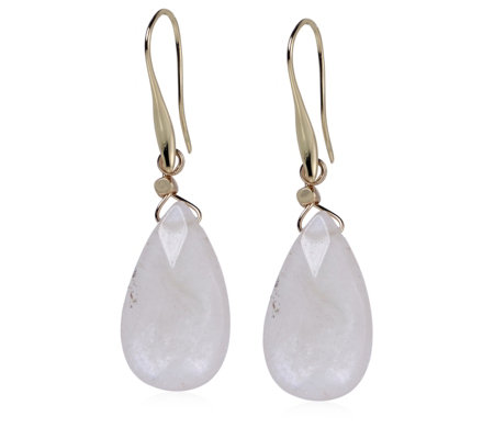 Bcharmd Luna Faceted Pear Drop Earrings