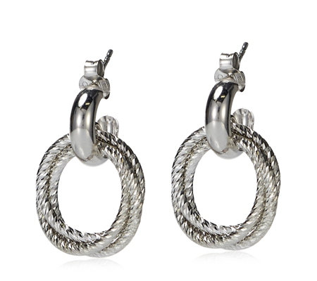 Links of London Aurora Hoop Earrings Sterling Silver