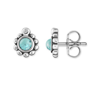 Thomas Sabo Glam & Soul Simulated Turquoise Studs Sterling Silver - 312357