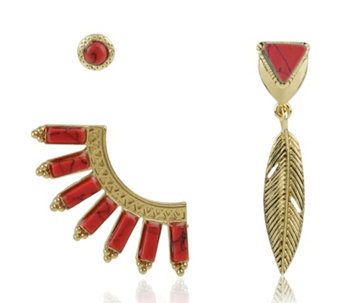 Danielle Nicole Traveller Earring Set - 306559