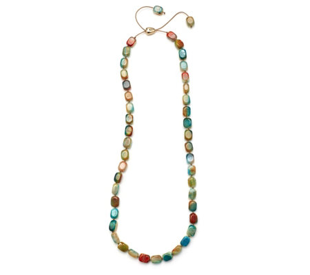 Lola Rose Hannah Semi Precious Luxe Slider Necklace