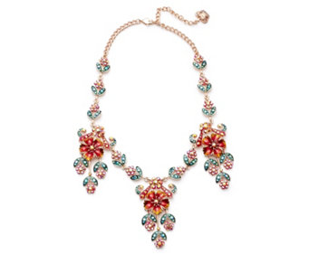 Butler & Wilson Flower Chain 41cm Necklace - 308462