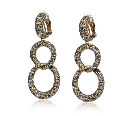 Princess Grace Collection Bold Link Earrings