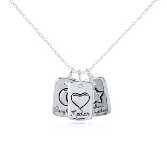 Extraordinary Life Shine Together Pendant Set Sterling Silver - 307963