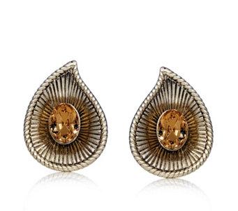 Princess Grace Collection Chip & Swirl Earrings - 317363