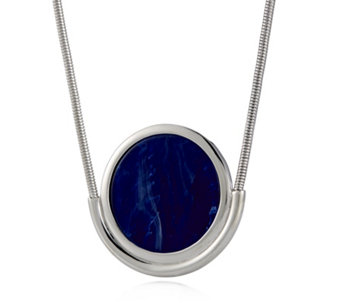 H by Halston Round Pendant 92cm Necklace - 307466