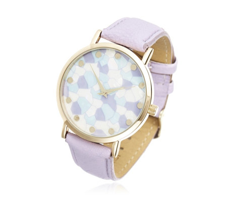 Gossip Printed Face Watch